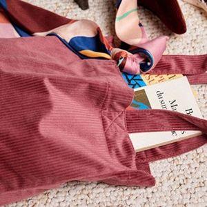 Sezane Pink Velvet Tote (Limited Edition)